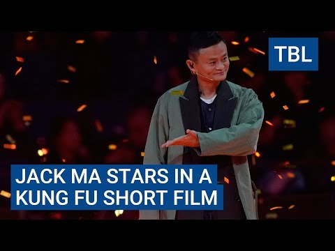 Billionaire Alibaba CEO Jack Ma is the star of an ultra-popular kung fu film