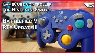 Super Smash Bros GameCube Controller for Nintendo Switch! $1000 Gaming Laptop, Nvida RTX Performance