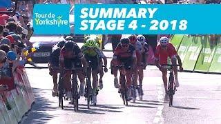 Summary - Stage 4 (Halifax / Leeds) - Tour de Yorkshire 2018