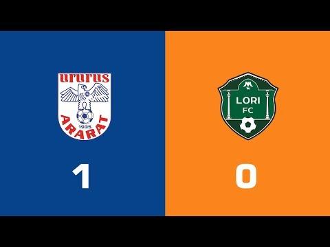 Ararat - Lori 1:0, Armenian Premier League 2018/19, Week 33