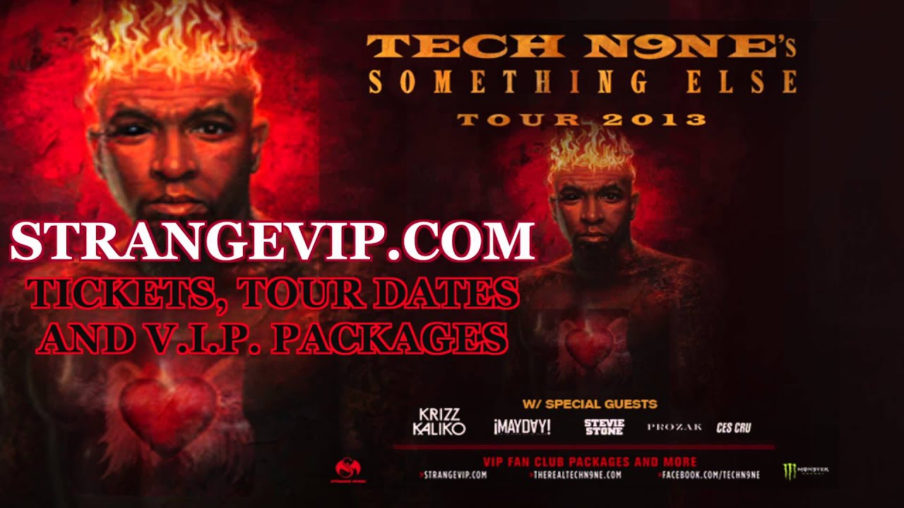 tech n9ne technician i am something else tour 2013