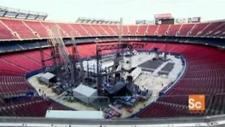 Turn it On Again Tour Stage Setup