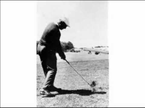 Ben Hogan at Olympic Club in 1966, Golf Swing Photos