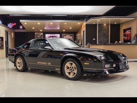 1985 chevrolet camaro iroc z28 for sale youtube. Black Bedroom Furniture Sets. Home Design Ideas
