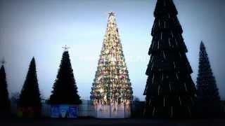 """Освещение для большой елки """"Классик"""", уличные ели, искусственные елки - www.elkiopt.ru"""