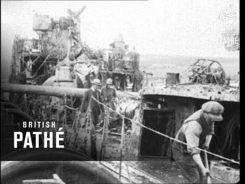 German Battleship Raised Scapa Flow Reel (1924)