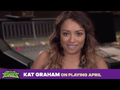 2018 April O'Neil | Kat Graham on Rise of The TMNT
