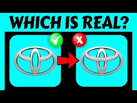 GUESS THE REAL AUTO LOGO (98% FAIL)