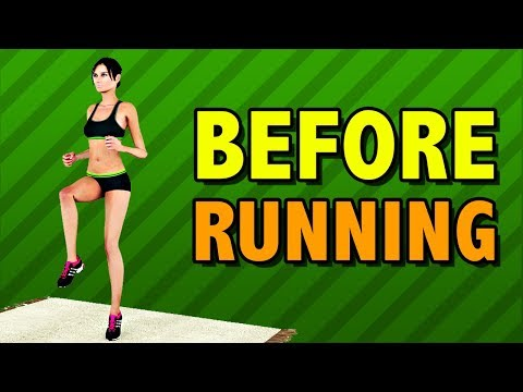Warm Up And Stretching Before Running [Top Exercises]