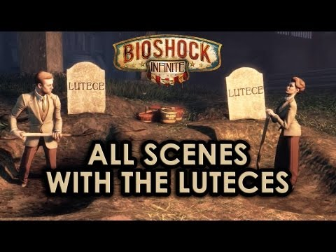 BioShock Infinite: All scenes with the Luteces