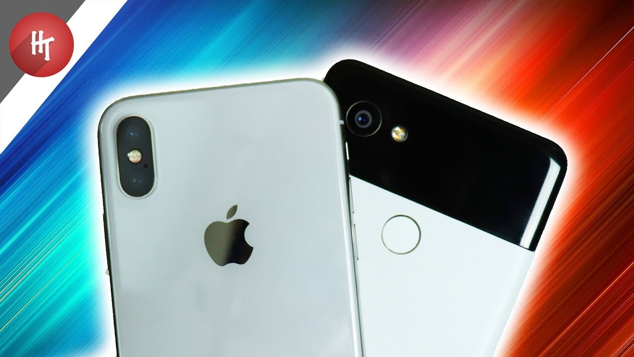 GOOGLE PIXEL 2 VS IPHONE X