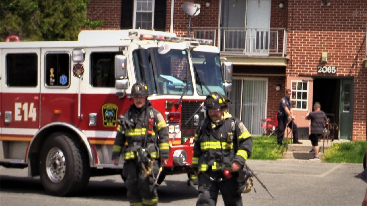 Allentown Pa Fire Department Smoke Condition Small Fire