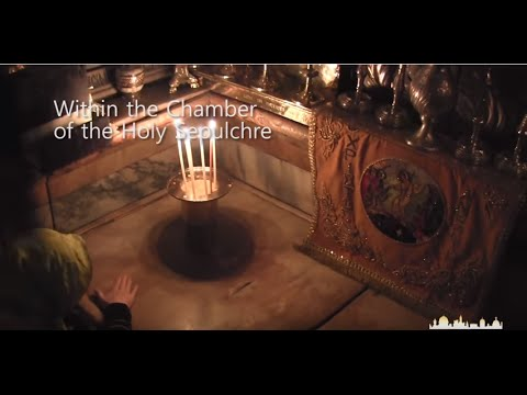 At the Tomb of Jesus - A Video of a Morning Mass at the Church of the Holy Sepulcher