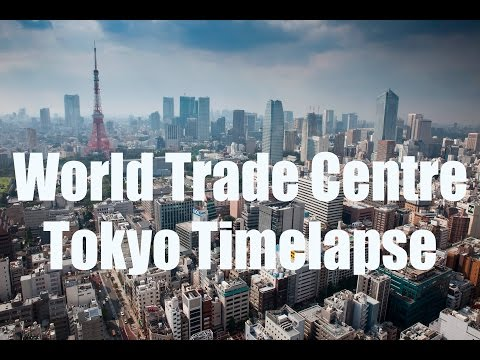 Tokyo Cityscape Timelapse - Sept 2016