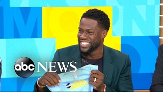 Kevin Hart talks becoming a dad for third time, reveals life lessons from book