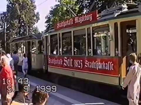 Magdeburger Straßenbahn - 100-jähriges Jubiläum - Teil 1
