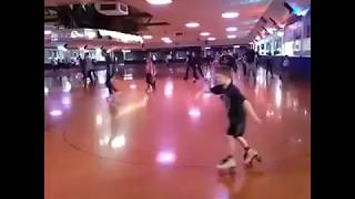 roller skating like about a week ago