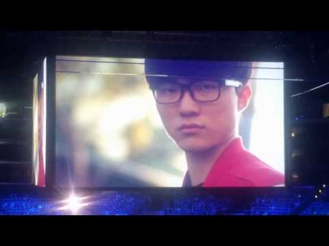 """2016 League of Legends Worlds Player intro featuring """"Chosen Ones"""" By Mountains vs. Machines"""