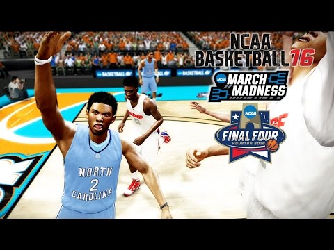 NCAA Basketball 16   UNC vs Syracuse FINAL FOUR 2016!   JOEL BERRY II GAMEPLAY!