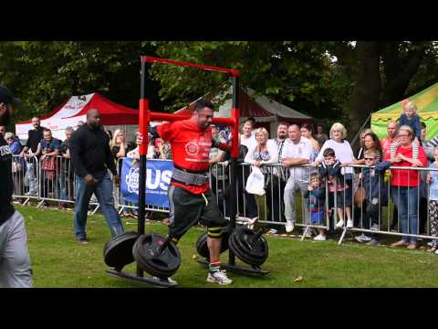 Yorkshire's Strongest Man u105kg 2015 - Ian Phillips - 280kg Yoke