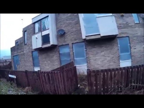 Abandoned Clasper Village Estate, Gateshead, UK | Urbex