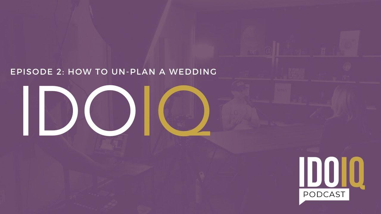 How To Un-Plan A Wedding