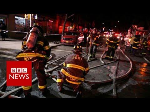 Bronx Fire: Twelve Die In New York Apartment Block Blaze