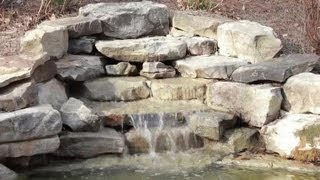 Landscaping Designs With Waterfall Fountains : Landscaping Basics