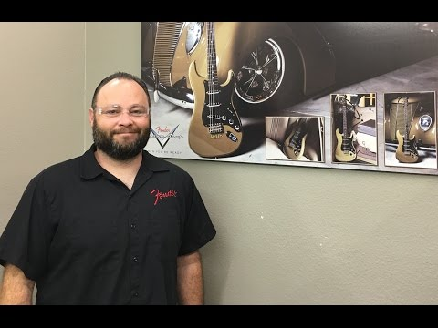 A VISIT WITH PAUL WALLER AT THE FENDER CUSTOM SHOP