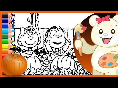 halloween-charlie-brown---sally-and-linus---holiday-coloring-pages
