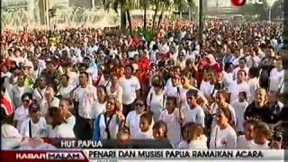 Free West Papua, Papuans people commemorate 50 years anniversary integration to Republic Indonesia)
