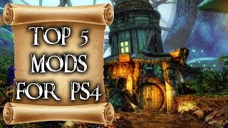 Top 5 mods of the month for Skyrim on PS4 #1