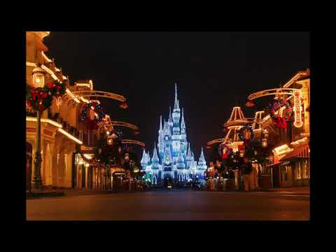 Magic Kingdom Main Street Christmas Loop