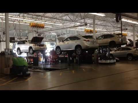 Lexus of Seattle Service Department Hyperlapse