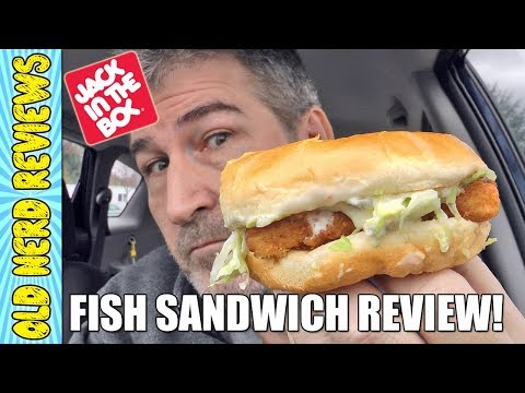 Jack In The Box Fish Sandwich REVIEW 🐟🍔