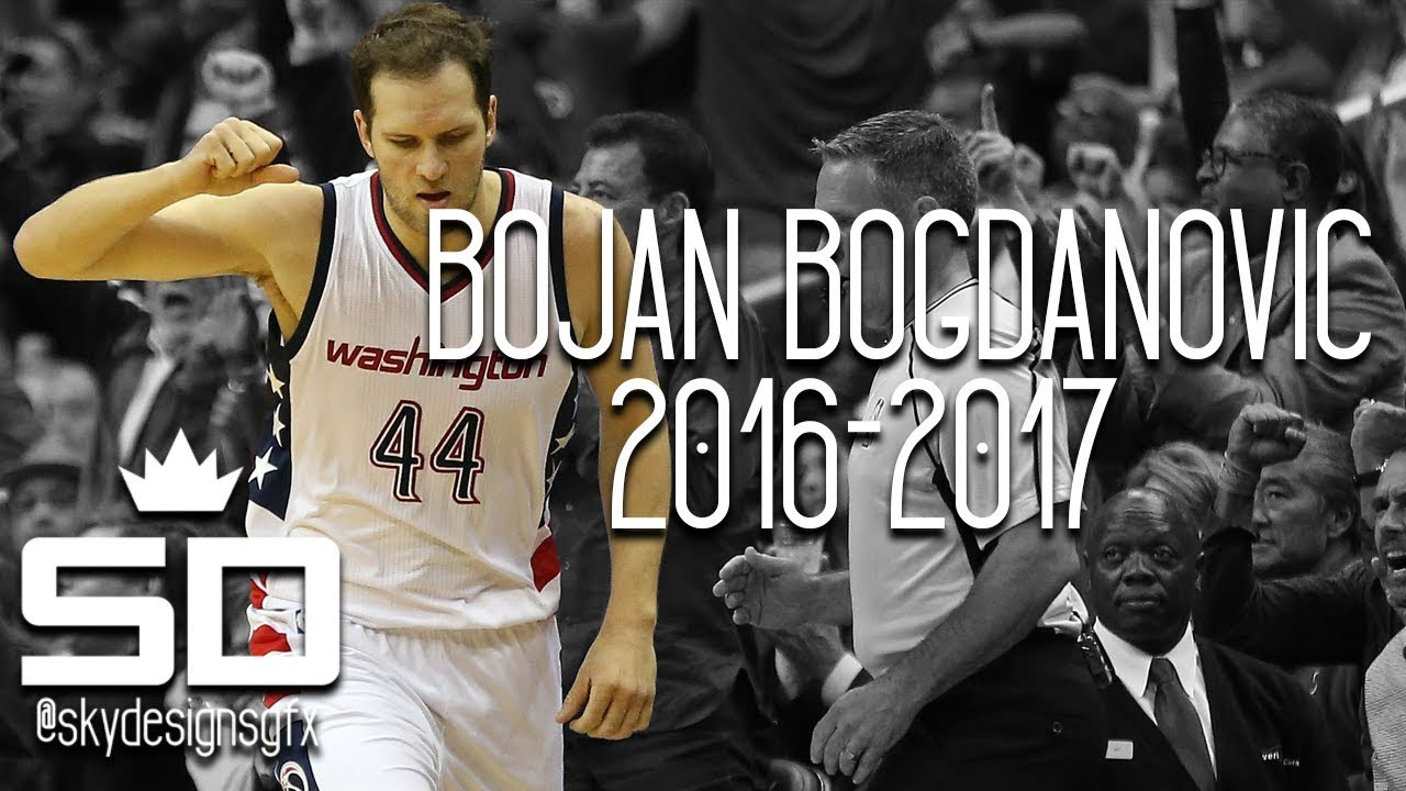 4be54ff4c Bojan Bogdanovic Official 2016-2017 Washington Wizards Highlights    12.7  PPG