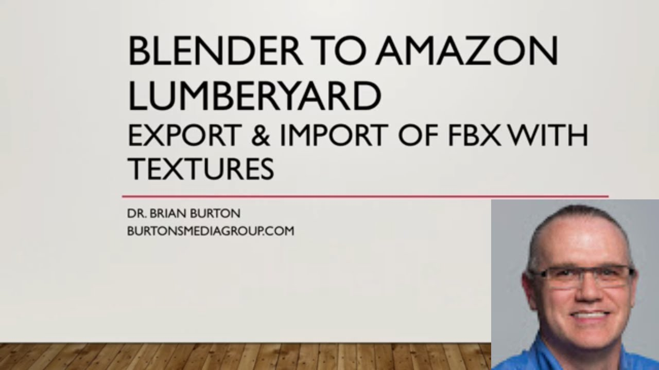 Blender to Lumberyard: Importing FBX 3D Models with Textures