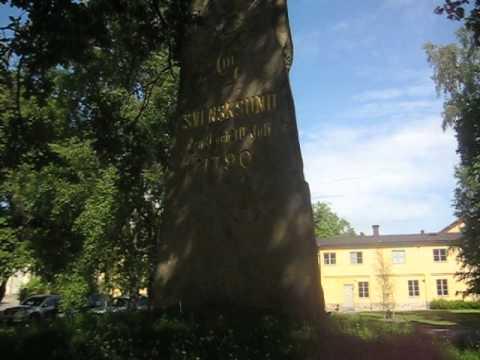 minnesten efter slaget vid svensksund