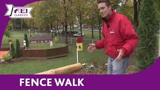 Paul Tapner - Fence Walk - Les 4 Etoiles de Pau - FEI Classics™ Eventing 2015/16