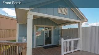 Oh So Cute! Waverly Cottage Tour - 1 Bed 1 Bath 555 sf - Palm Harbor Homes Florida