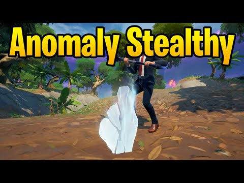 Investigate an anomaly detected in Stealthy Stronghold - Fortnite Challenge Guide