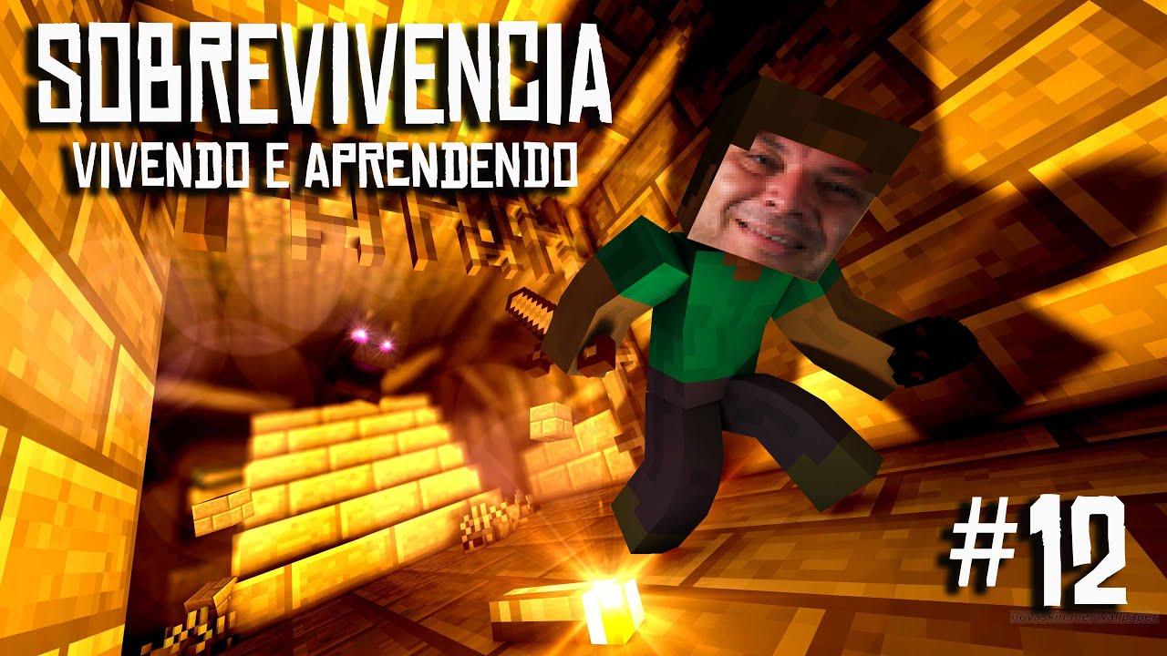 VIVENDO E APRENDENDO #12 - TRAZENDO VILLAGERS PARA NOSSA BASE!!