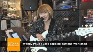 Wendy Phua: Bass Tapping Yamaha Workshop