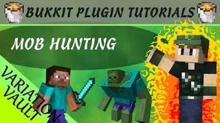 Mob Hunting | DESCRIPTION | Minecraft Bukkit Plugin