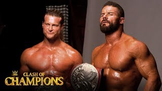 Dolph Ziggler & Robert Roode pose for Championship photoshoot: WWE Exclusive, Sept. 15, 2019