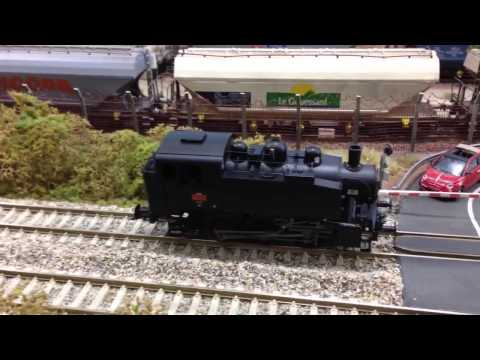 HO French class 030 TU Tank Locomotive