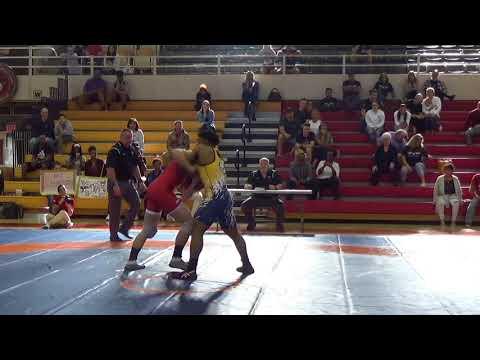 77 kg, Brandon Mueller, Air Force vs. Austin Craig, Navy