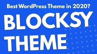 Blocksy Theme | Best WordPress theme 2020?? | Preview ??