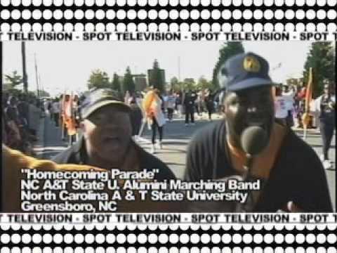 N.C. A & T STATE UNIVERSITY ALUMINI BAND on SPOT TV