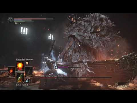 GAME ARCHIVE DARK SOULS™ III SISTER Friede defeated Ashes of Ariandel dlc  